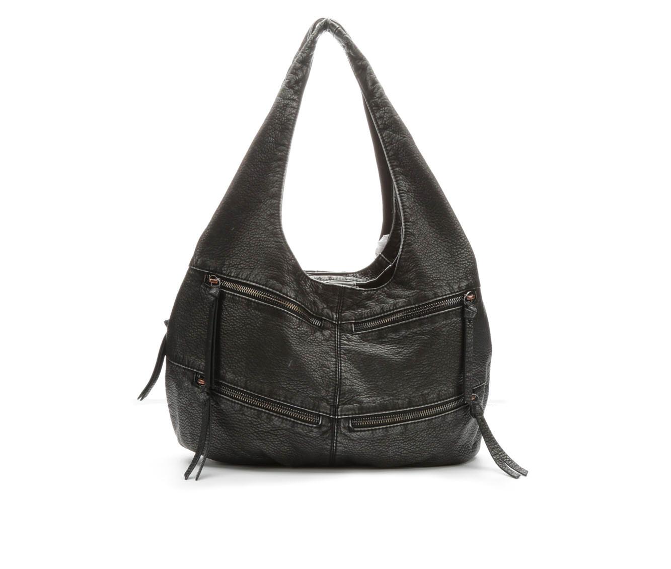 Bueno Of California Porthole DH Hobo Handbag (Grey)