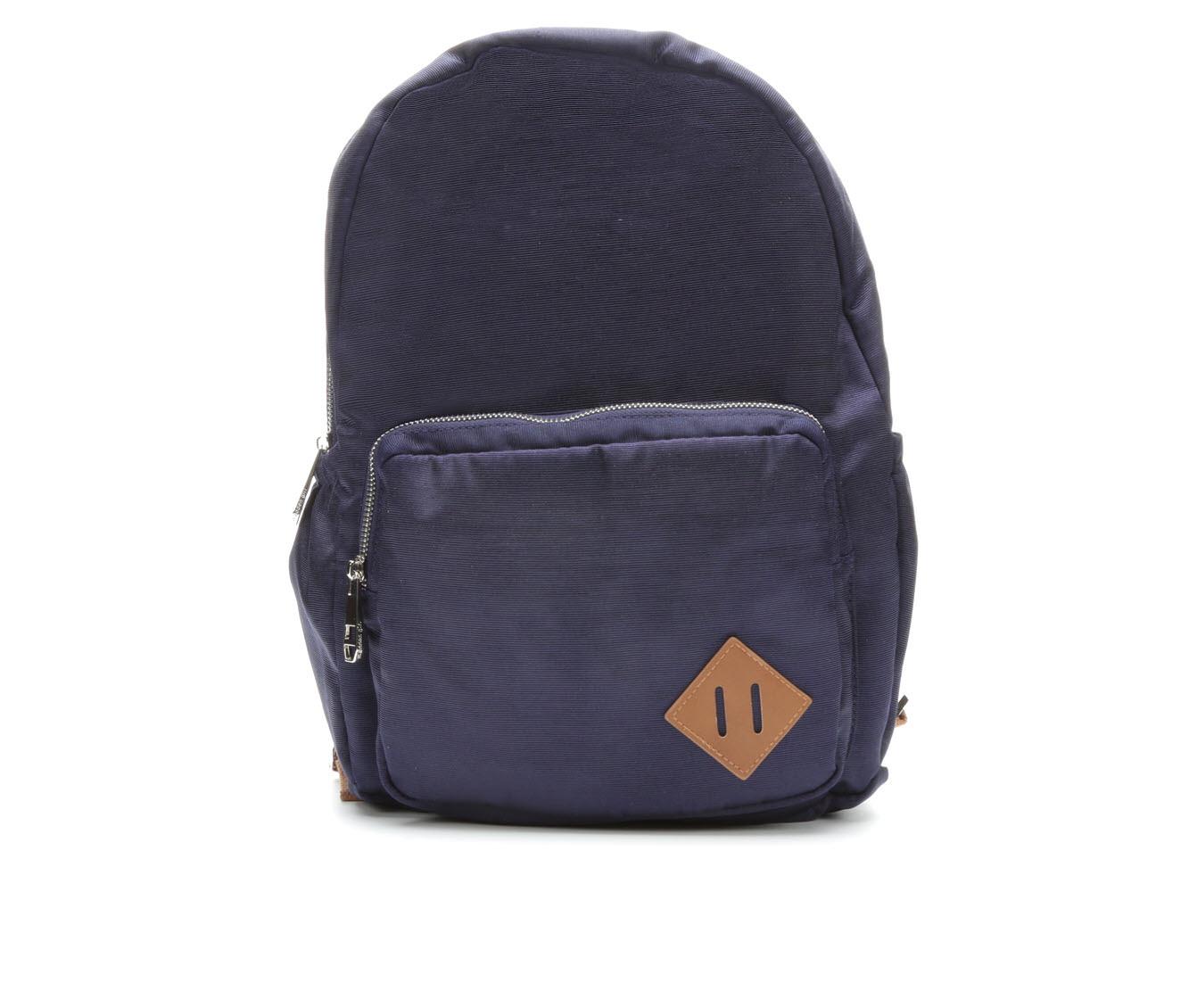Madden Girl Handbags Sash Backpack (Blue)