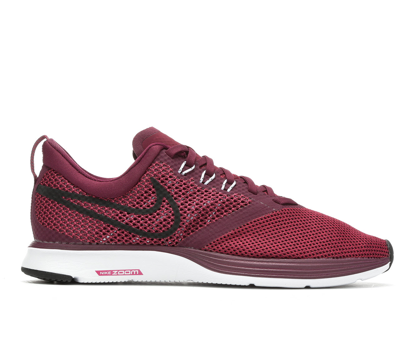 Women's Nike Zoom Strike Running Shoes (Red - Size 7) 1697328