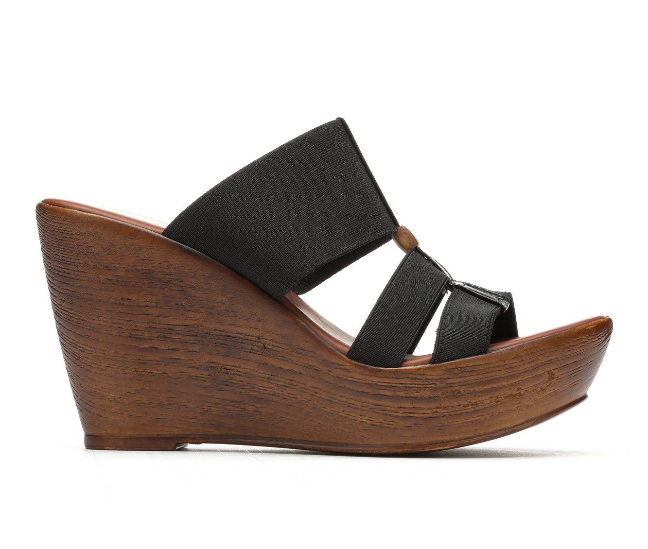 Women's Italian Shoemakers Stoy Sandals (Black)
