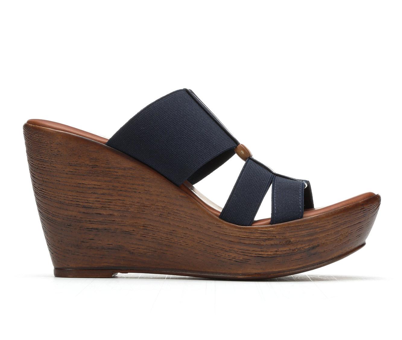 Women's Italian Shoemakers Stoy Sandals (Blue)