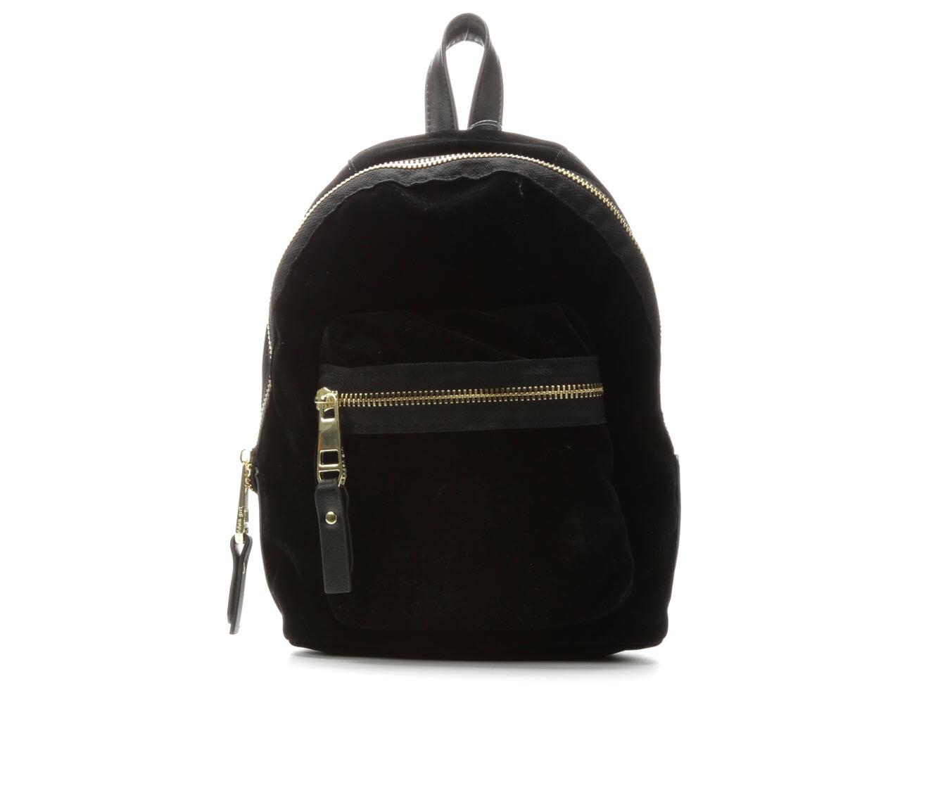 Madden Girl Handbags Blink Backpack (Black)