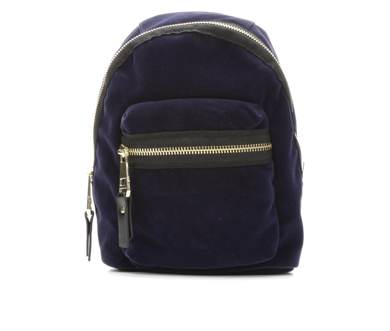 Madden Girl Handbags Blink Backpack (Blue)