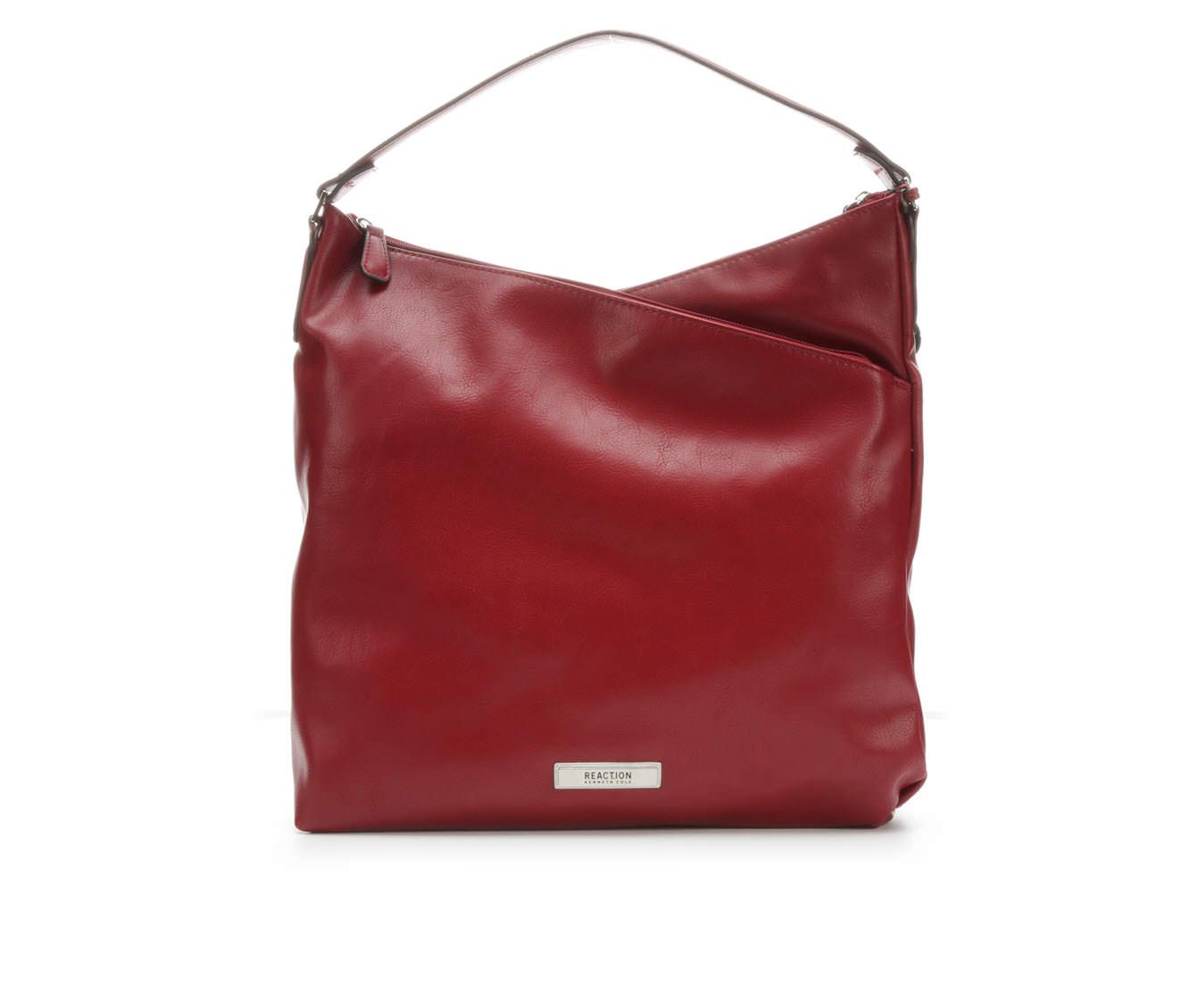 Kenneth Cole Reaction Tribeca Hobo Handbag (Red)