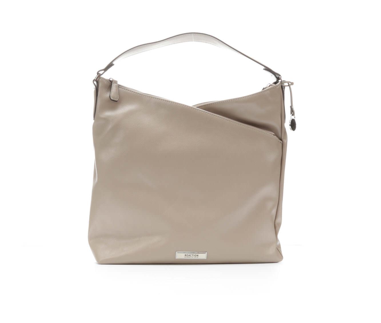 Kenneth Cole Reaction Tribeca Hobo Handbag (Beige)