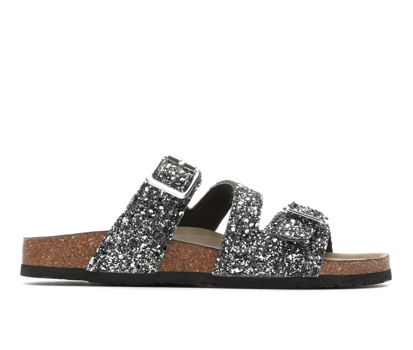 Women's Madden Girl Brinsley Sandals (Silver)