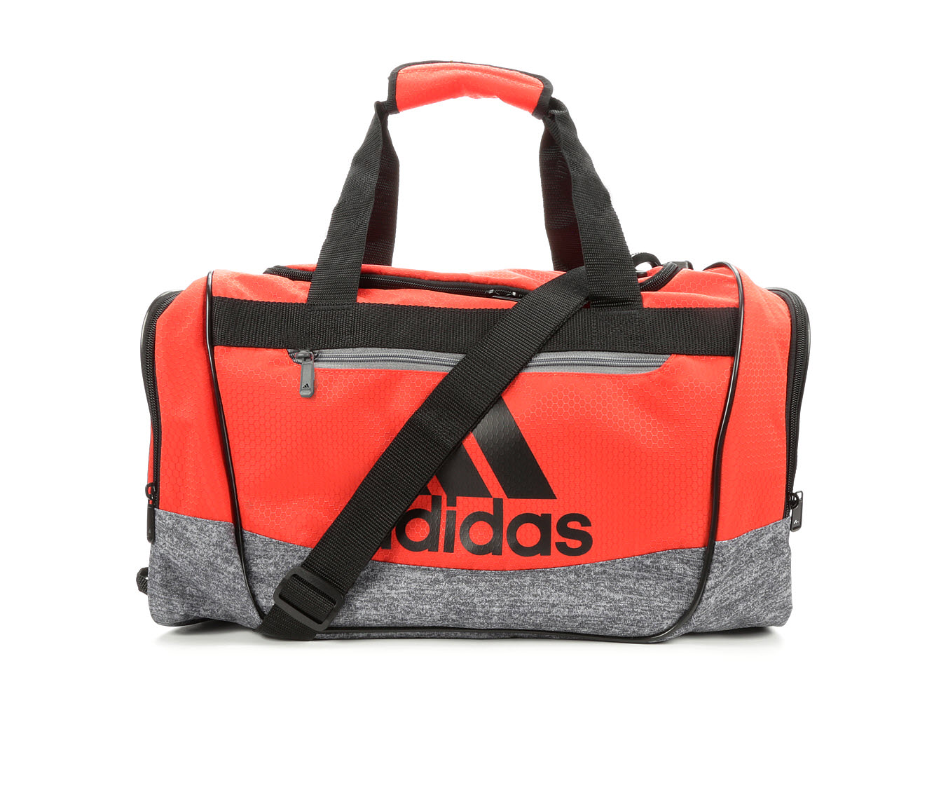Image of Women's Adidas Defender III Small Duffel Bag (Red - Size UNSZ)