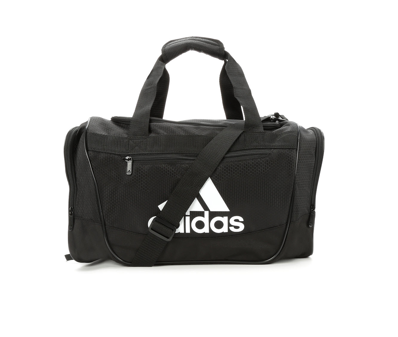 Image of Women's Adidas Defender III Small Duffel Bag (Black - Size UNSZ)