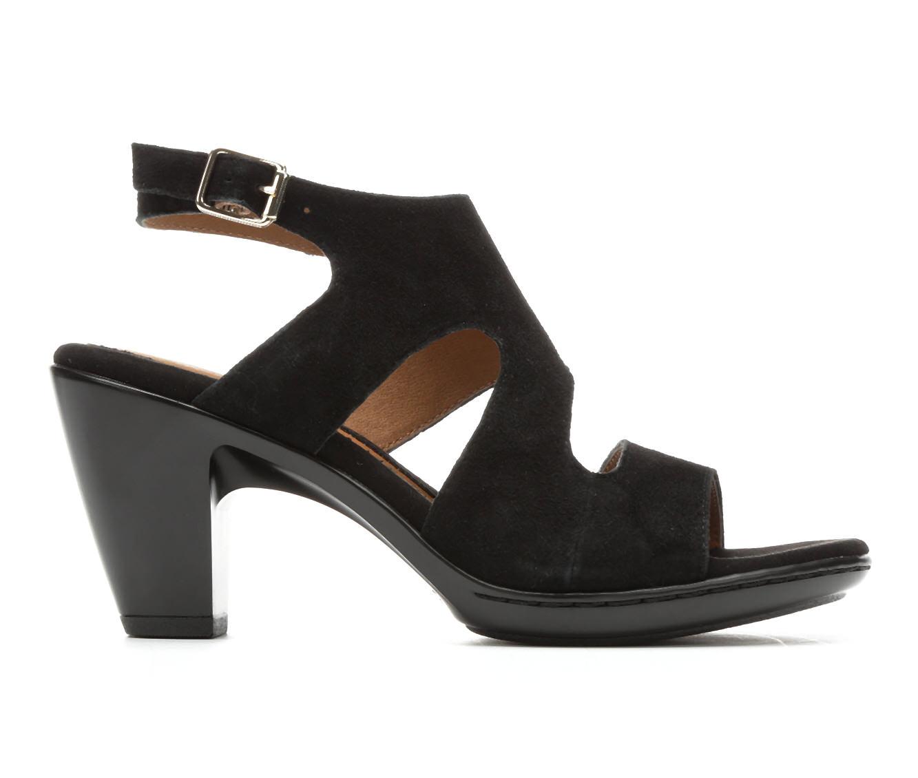 Women's EuroSoft Vali Sandals (Black)