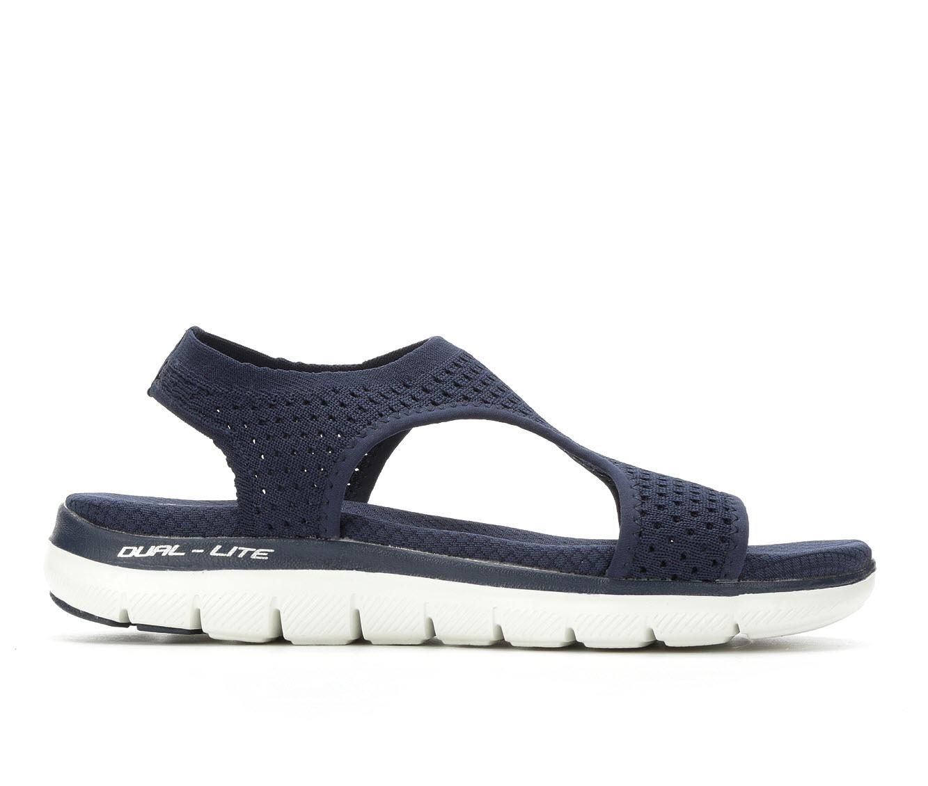 Women's Skechers Cali Flex Appeal Sandals (Blue - Size 10) 1712326