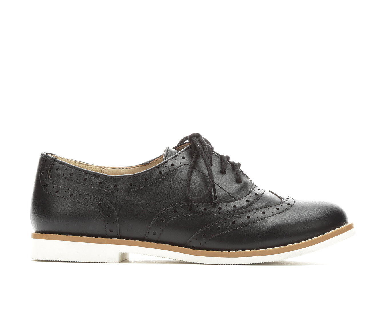 Girls' Soda Casino IIS Oxford Shoes (Black)