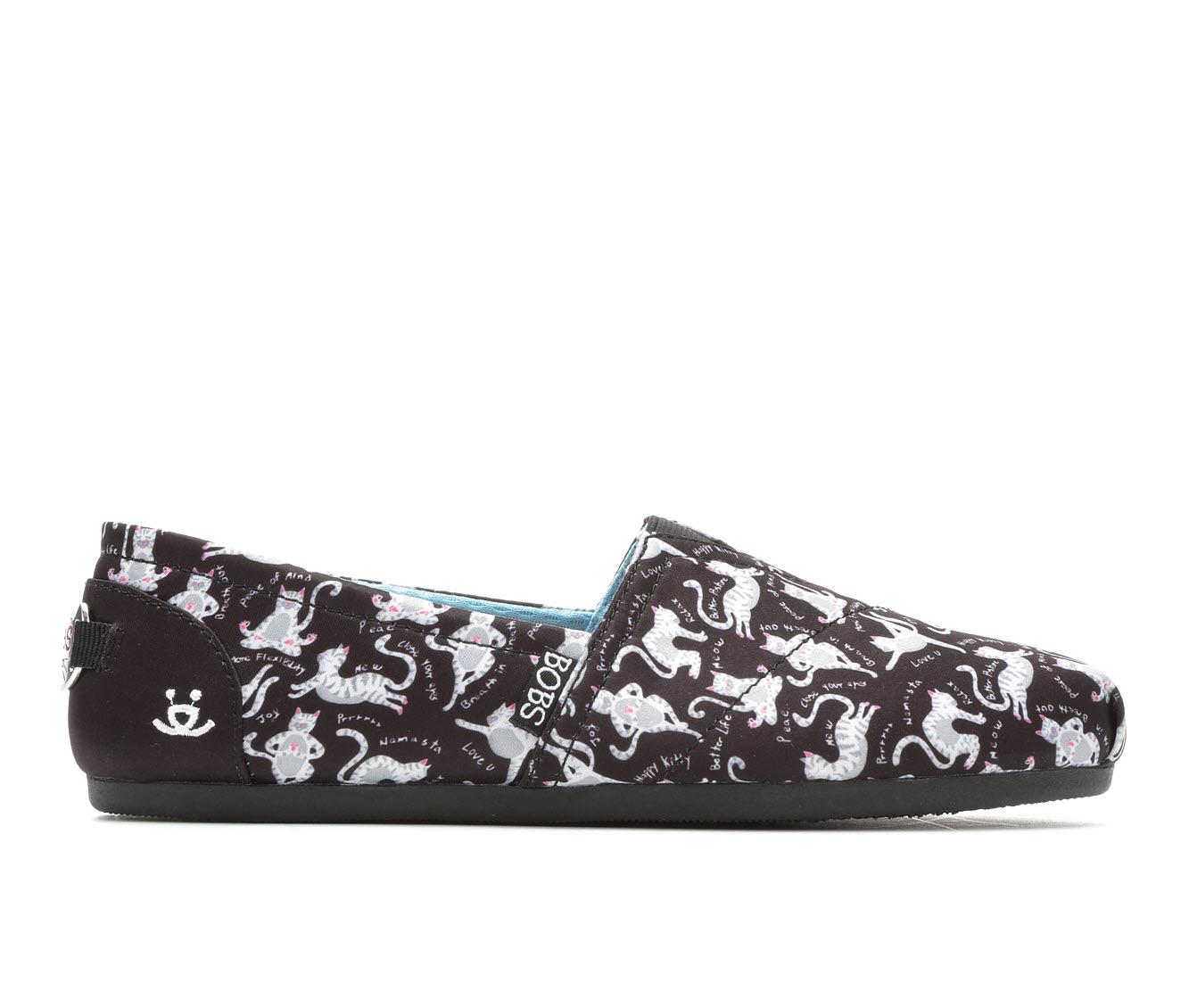 Women's BOBS Yoga Kitties 32560 Sport Shoes (Black - Size 5.5) 1715639