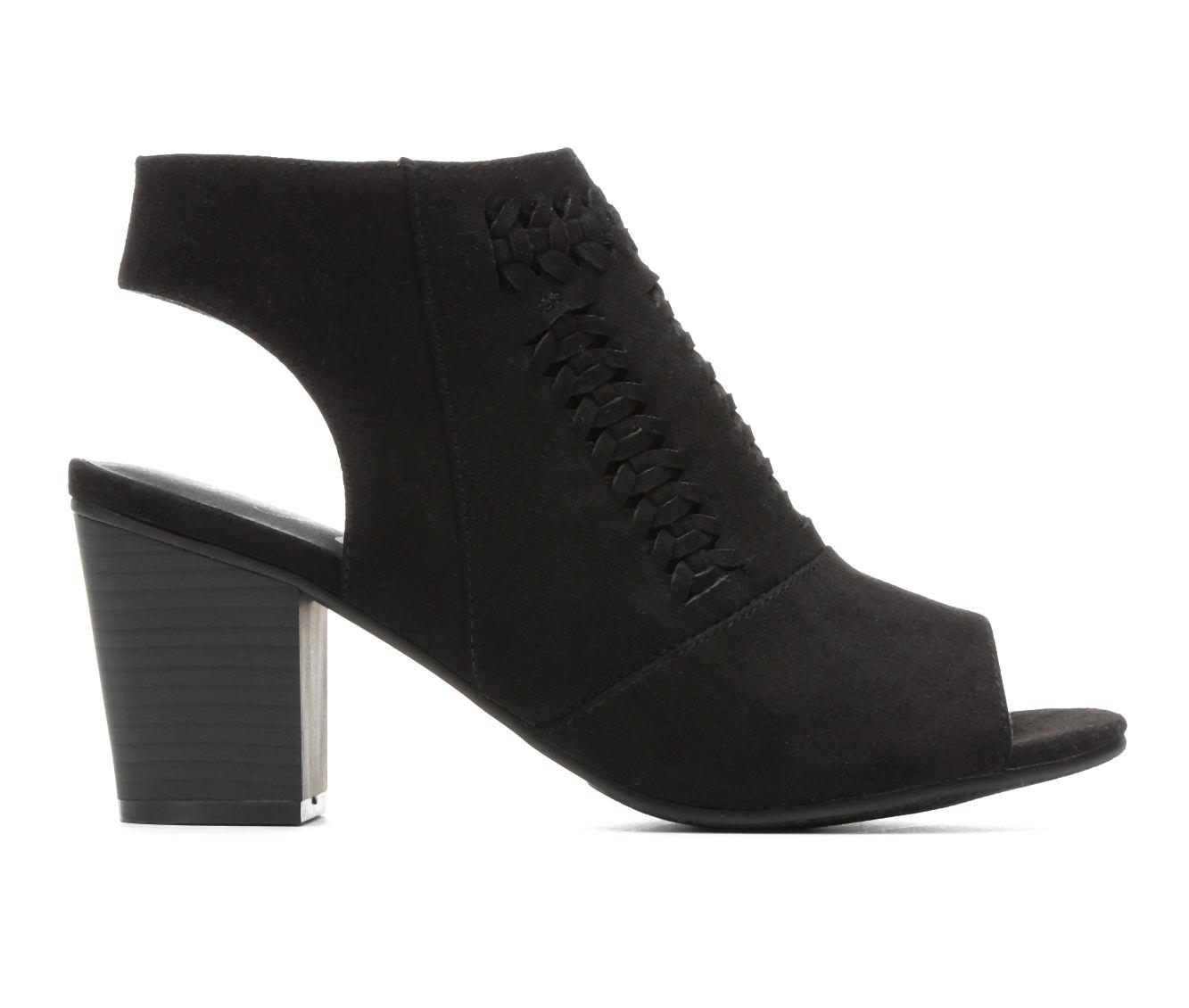 Women's Vintage 7 Eight Wendi Block Heels (Black)
