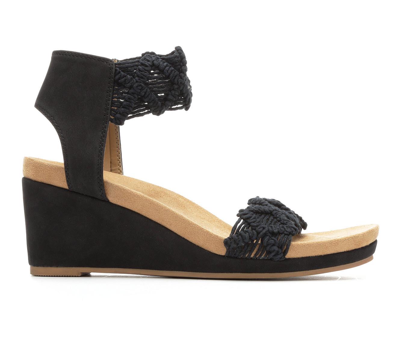 Women's Vintage 7 Eight Keran Sandals (Black)