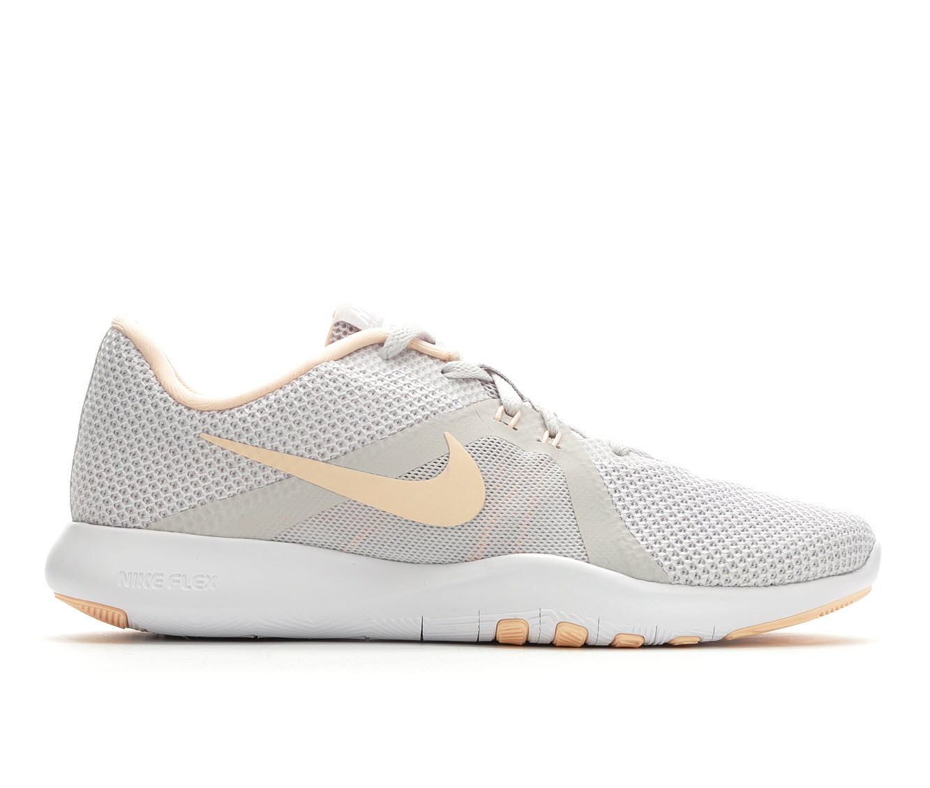 Women's Nike Flex Trainer 8 Training Shoe (Grey - Size 11) 1724212