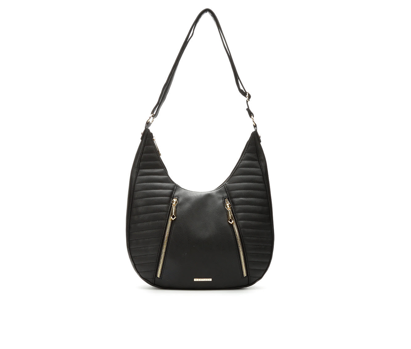 Rampage Quilted Hobo (Black)