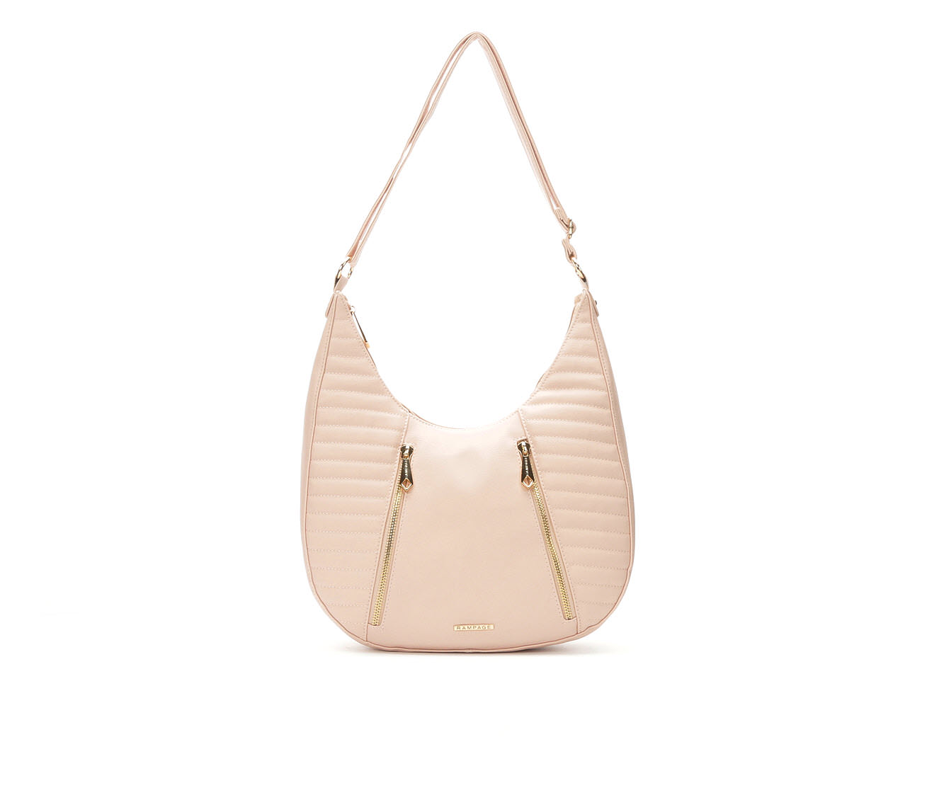 Rampage Quilted Hobo (Pink)