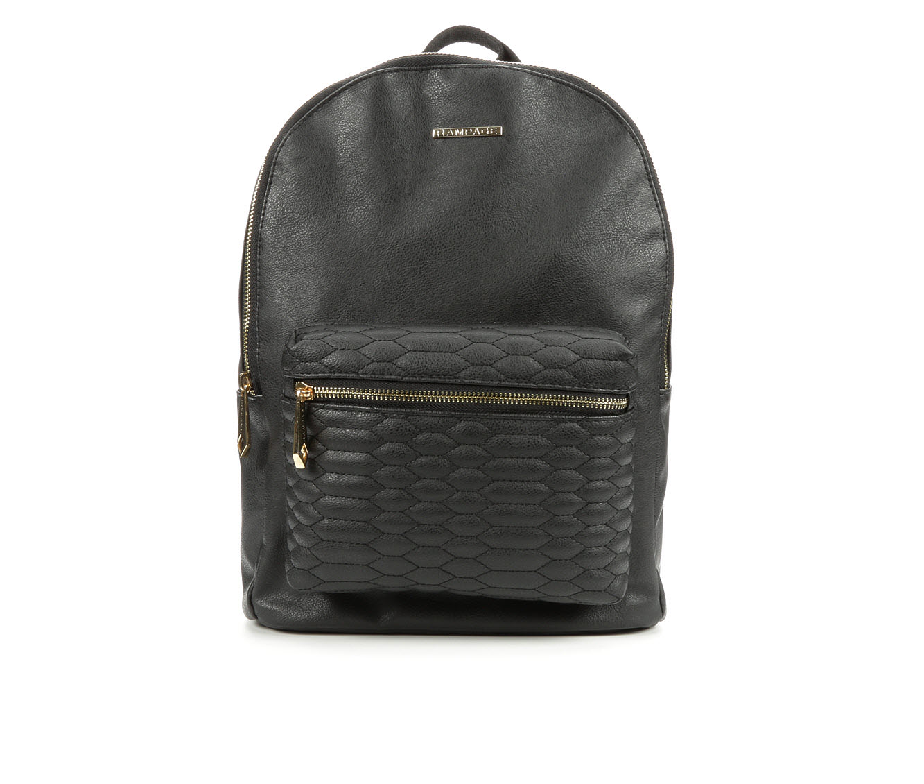 Rampage Snake Quilted Backpack (Black)