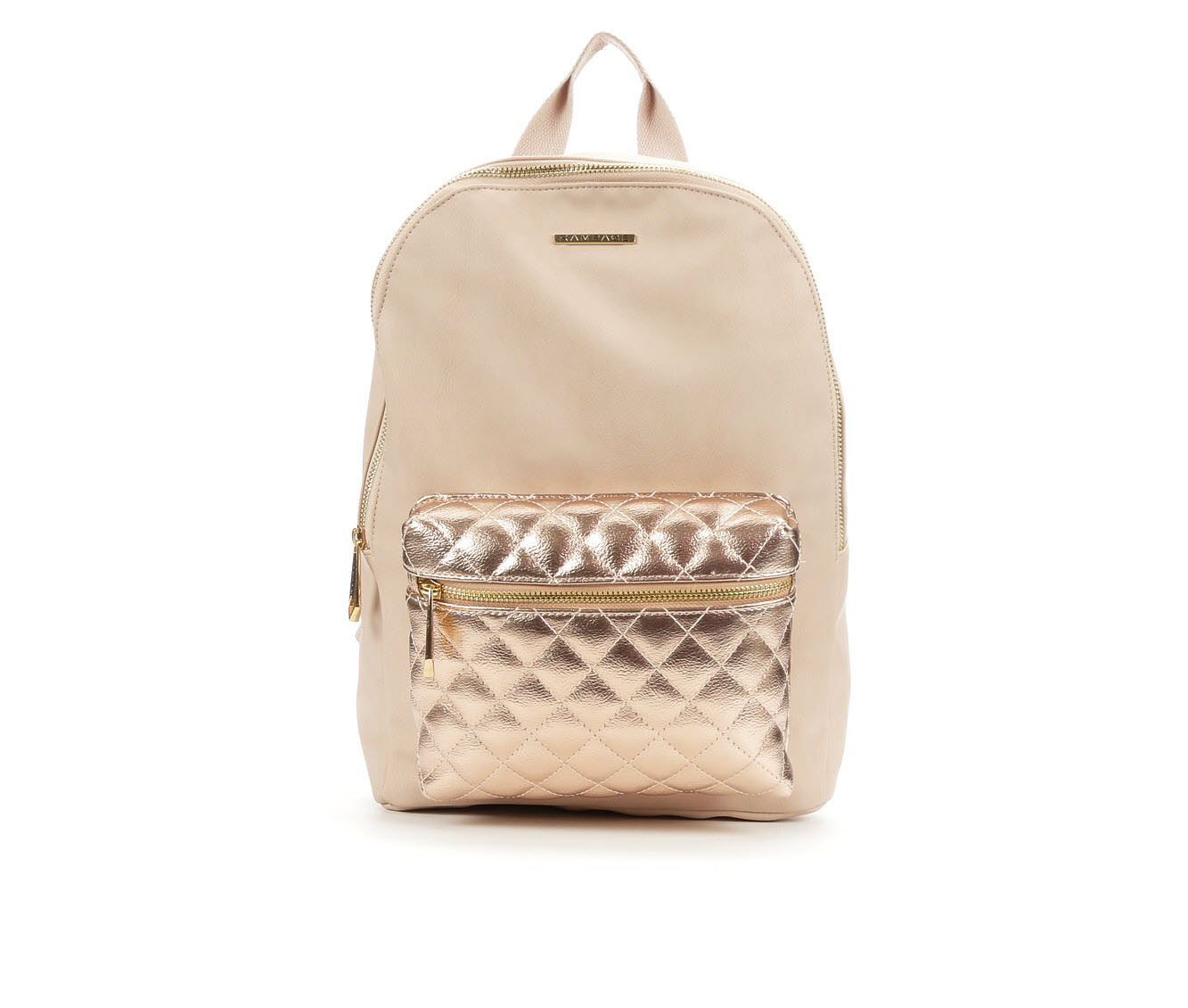 Rampage Snake Quilted Backpack (Pink)