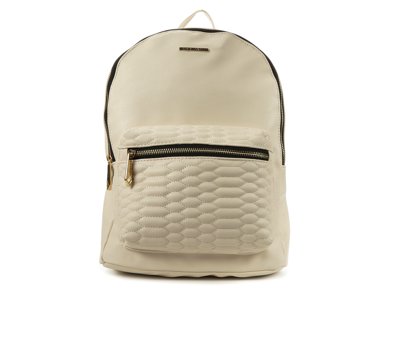 Rampage Snake Quilted Backpack (Brown)