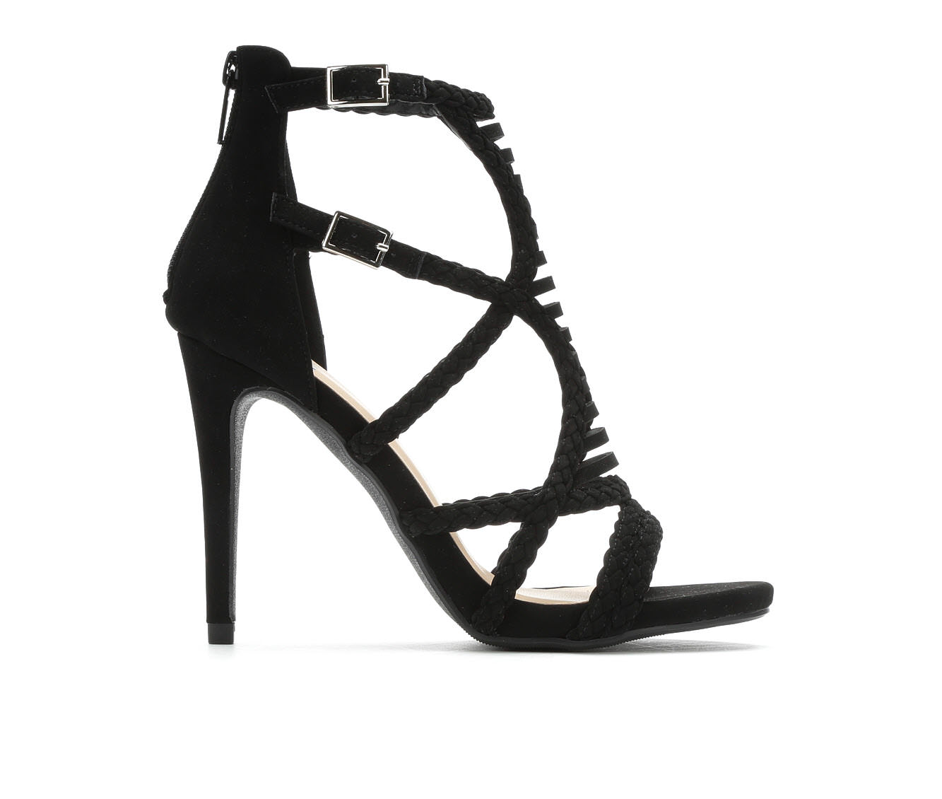 Women's Delicious Nobody Sandals (Black - Size 9) 1735395
