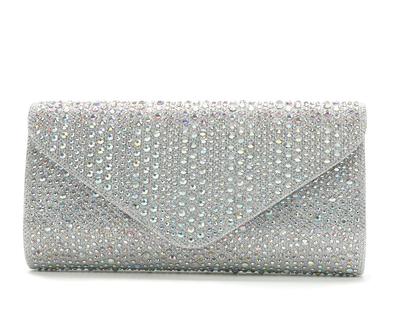 LLorraine Studded Envelope (Silver)