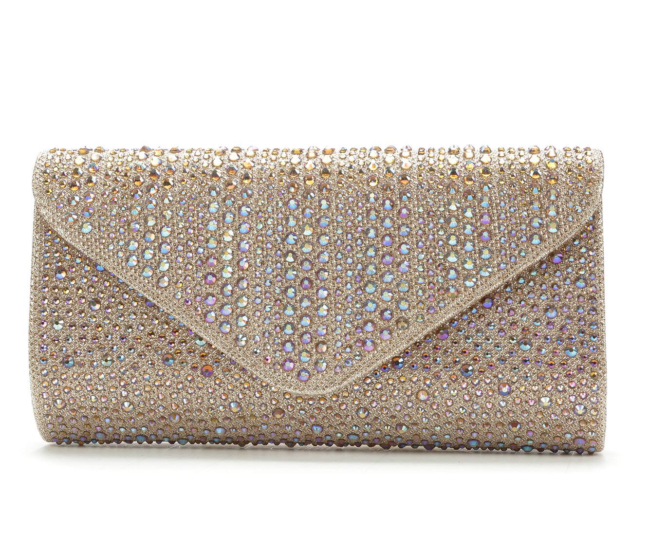 LLorraine Studded Envelope (Gold)