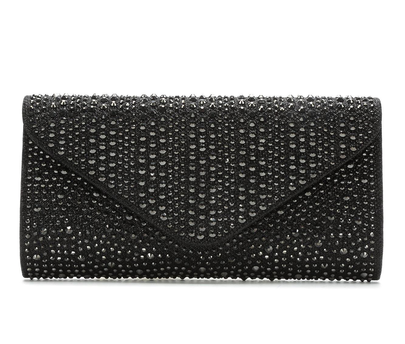 LLorraine Studded Envelope (Black)