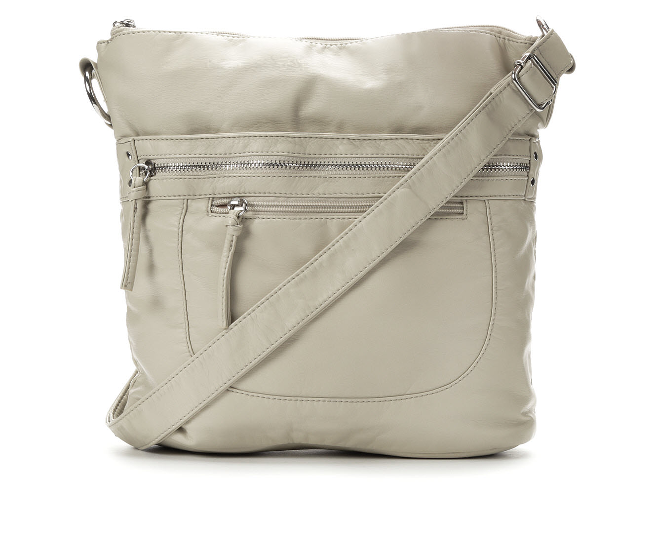 Bueno Of California Washed Crossbody (Beige)