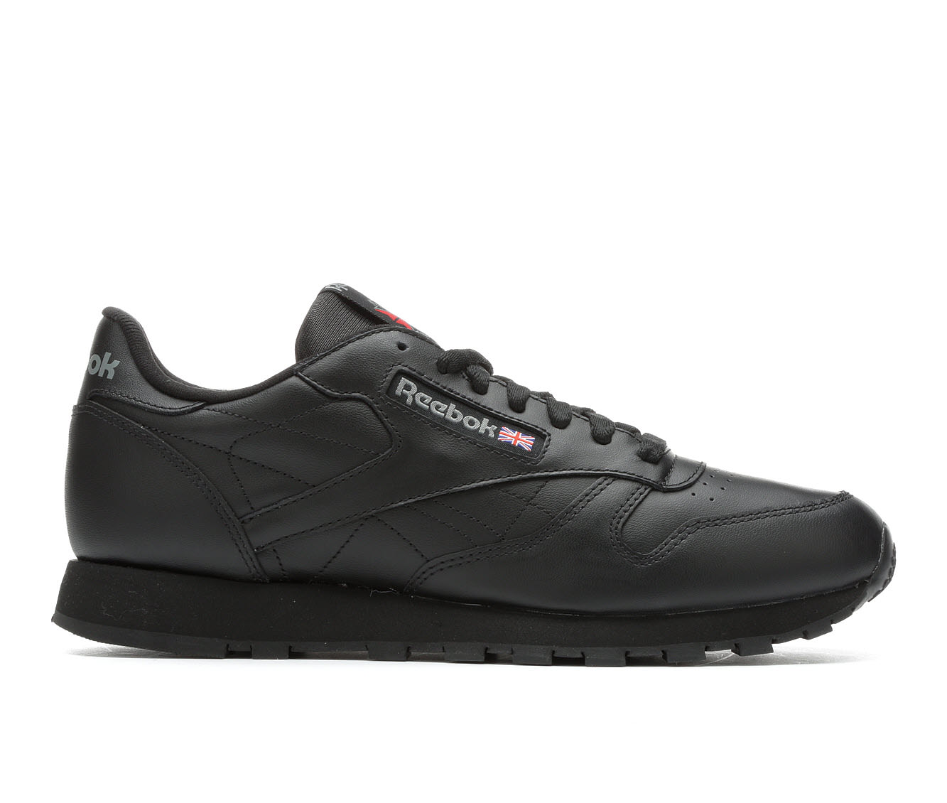 Men's Reebok Classic Leather Sneakers (Black - Size 11.5) 1722841