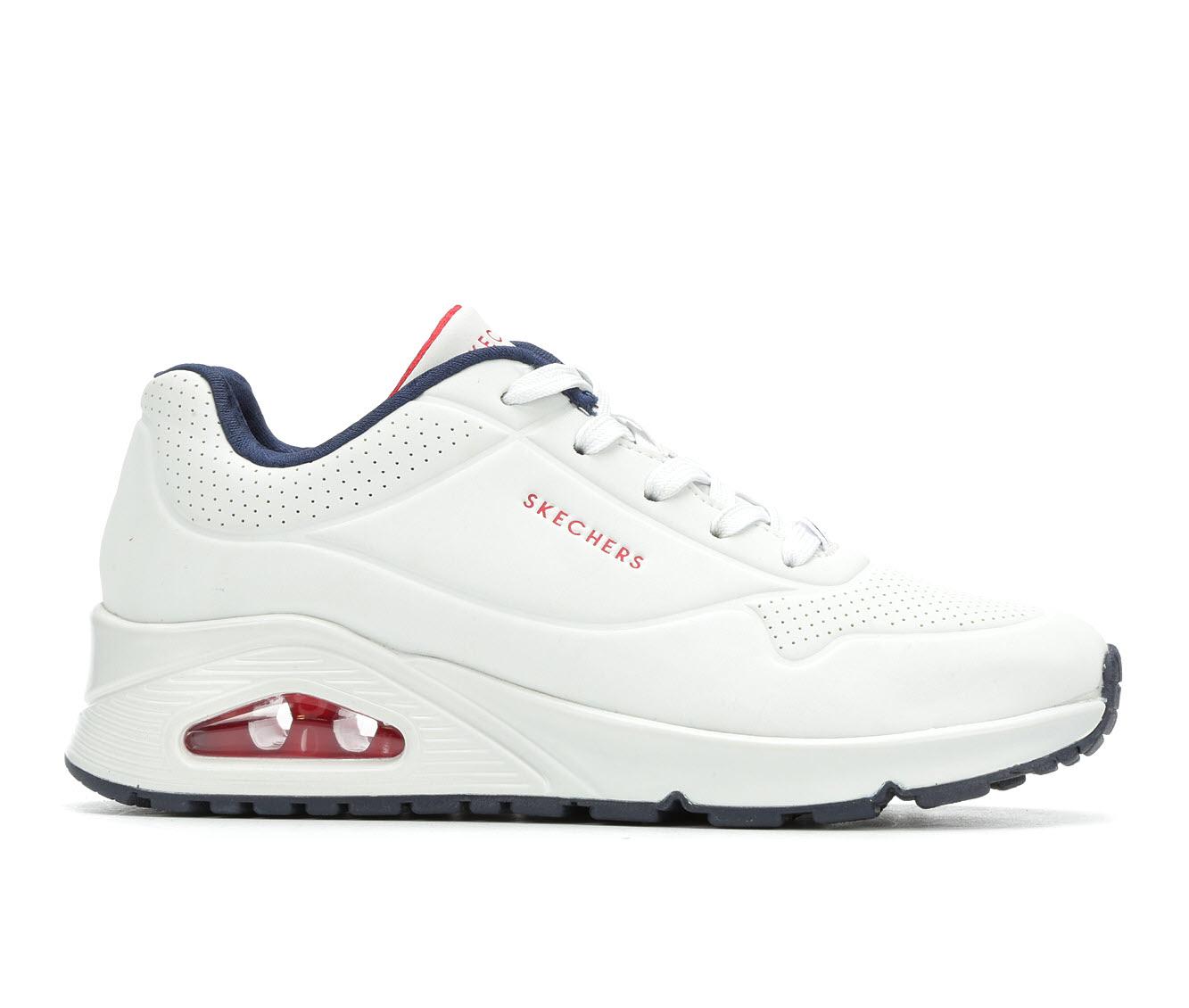 skechers ladies white sneakers