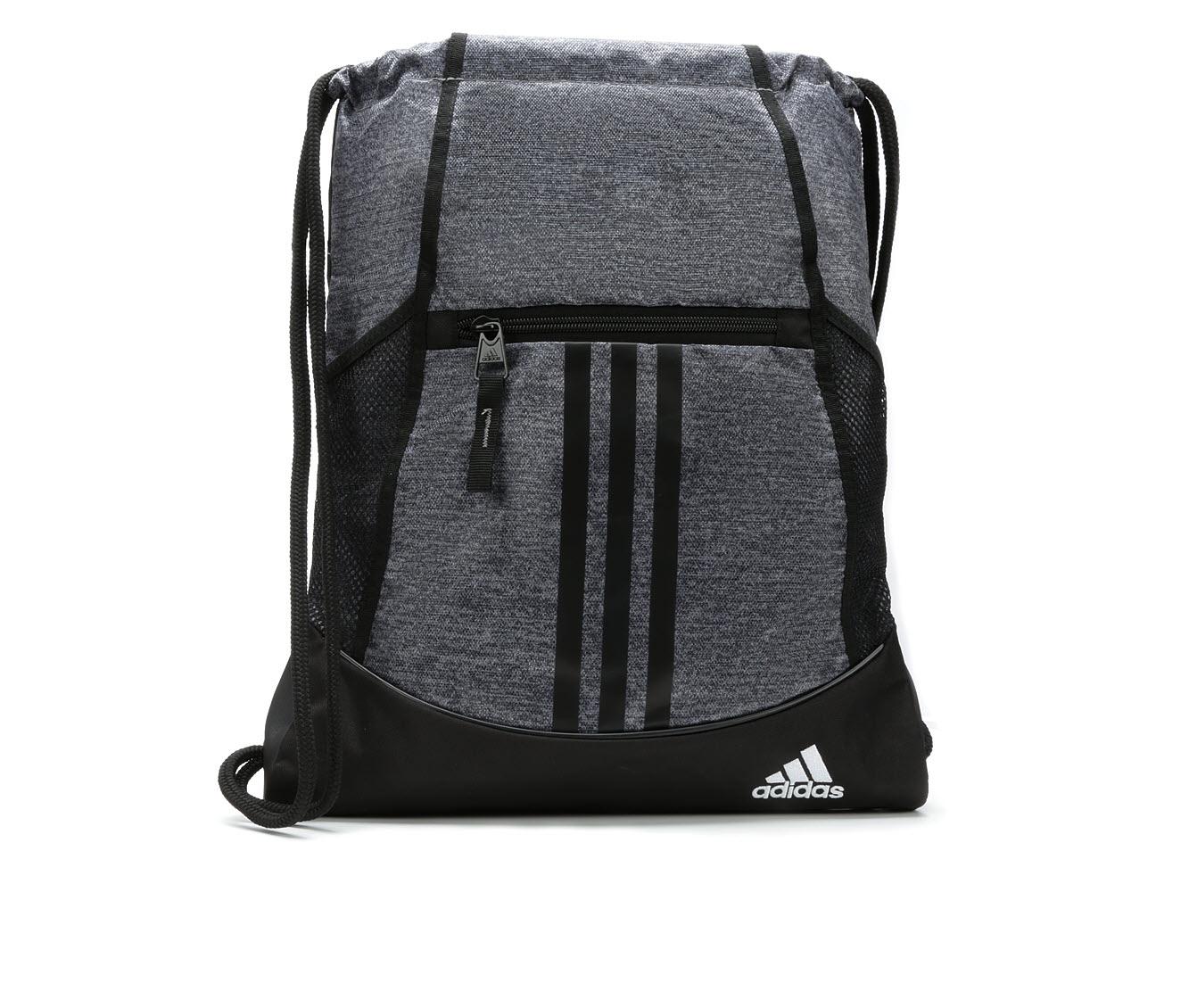 Adidas Alliance II Sackpack Drawstring Bag in Onix Jrsy/Black ...