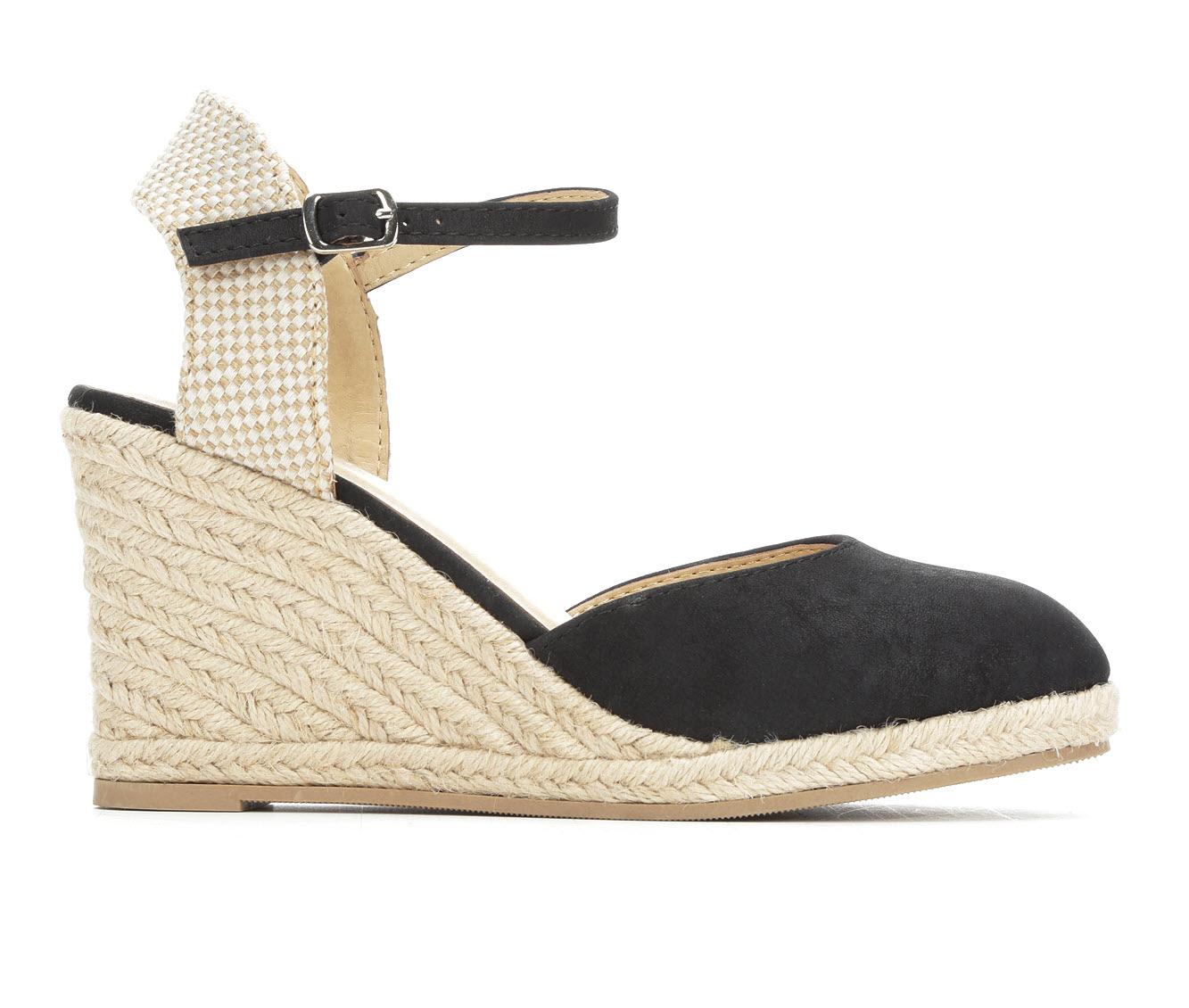 Solanz Libby Women's Dress Shoe (Black Faux Leather)