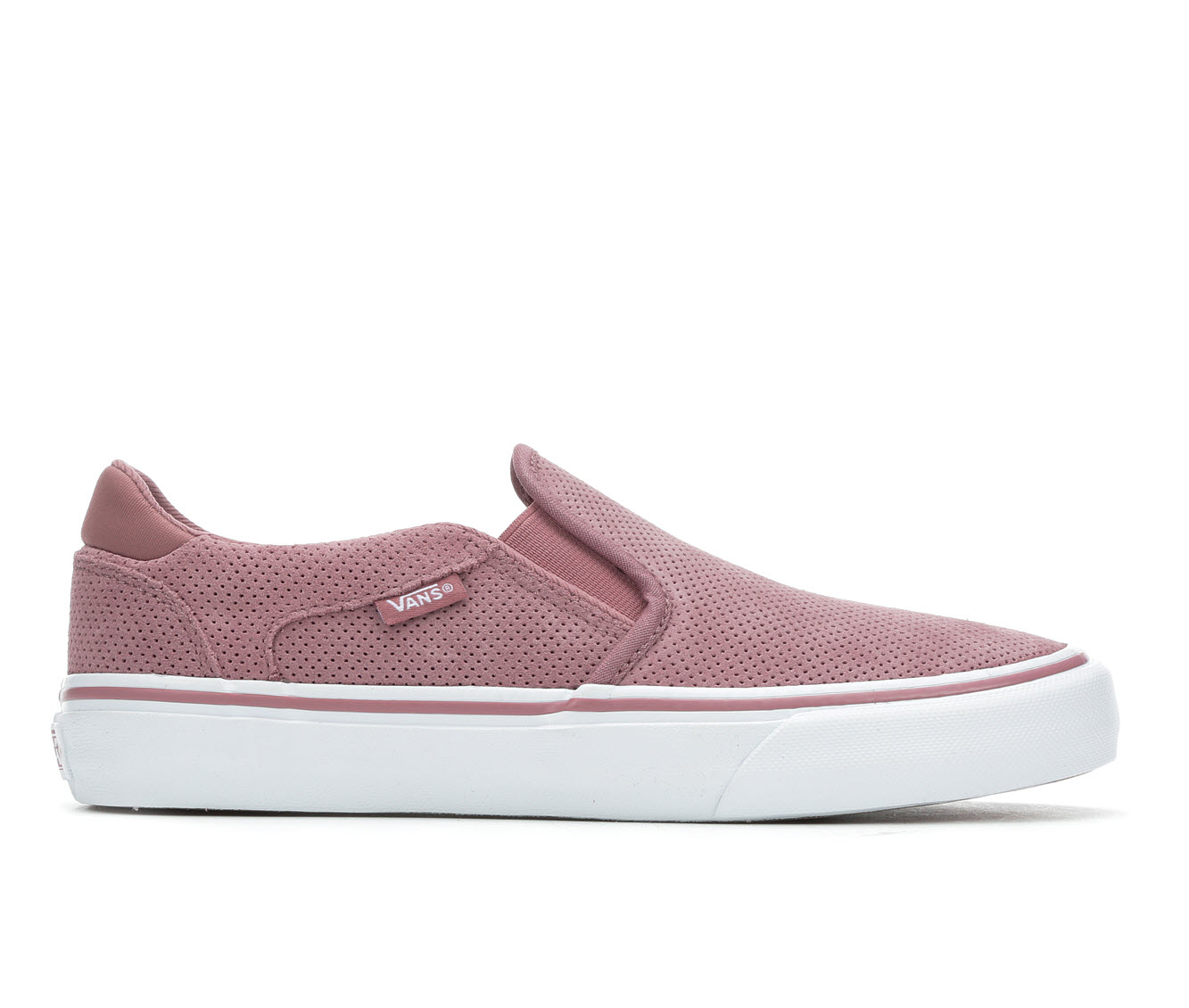 Vans Asher Deluxe Women's Athletic Shoe (Pink)