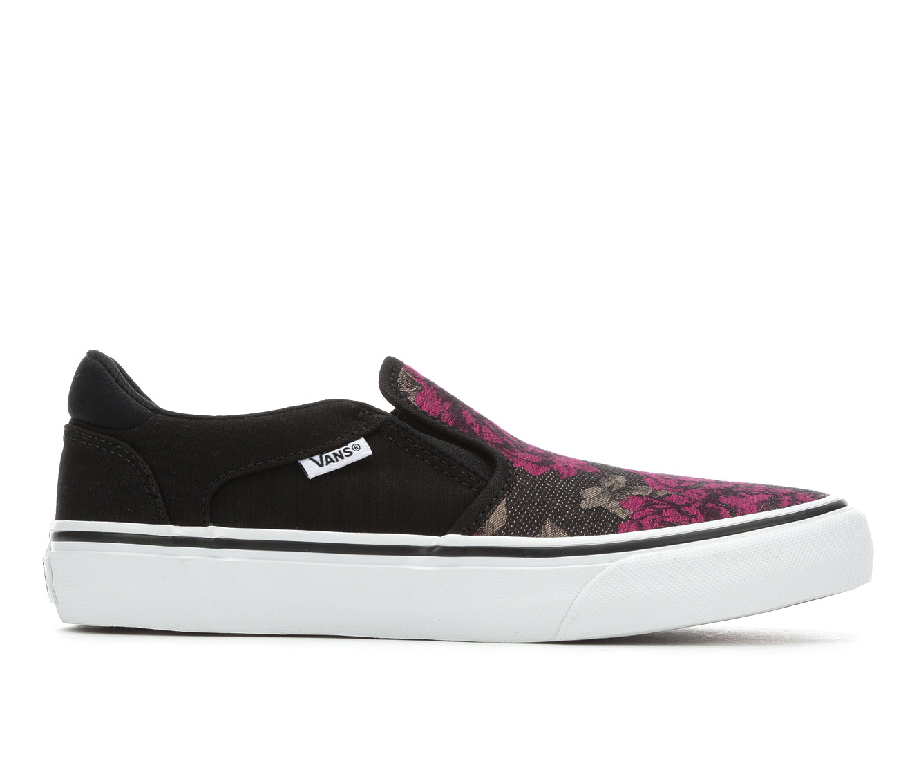 Vans Asher Deluxe Women's Athletic Shoe (Multi-color)