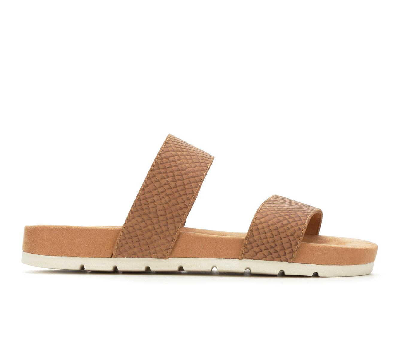 Cliffs Tahlie Women's Sandal (Beige Faux Leather)