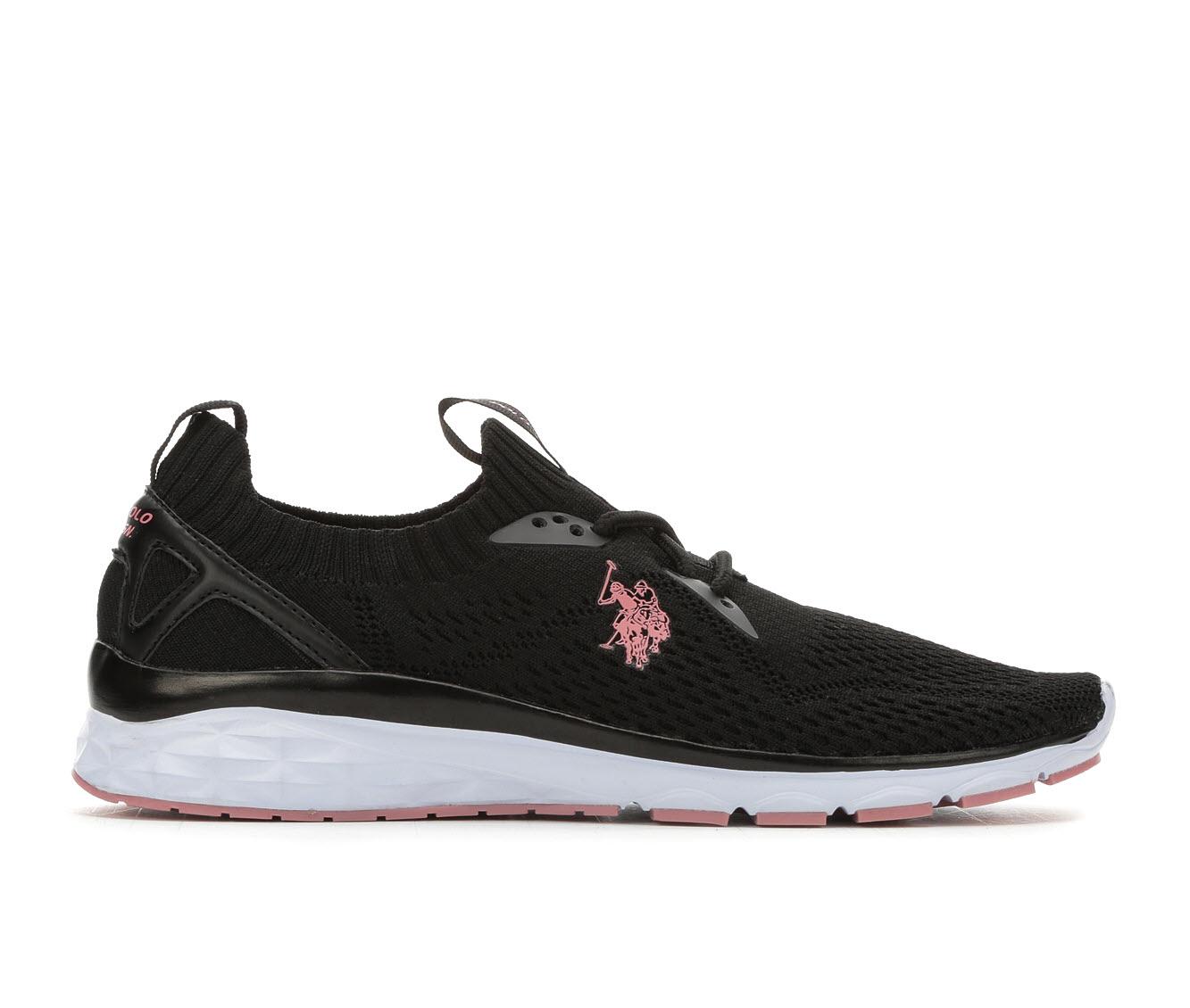 US Polo Assn Lazz Women's Athletic Shoe (Black)