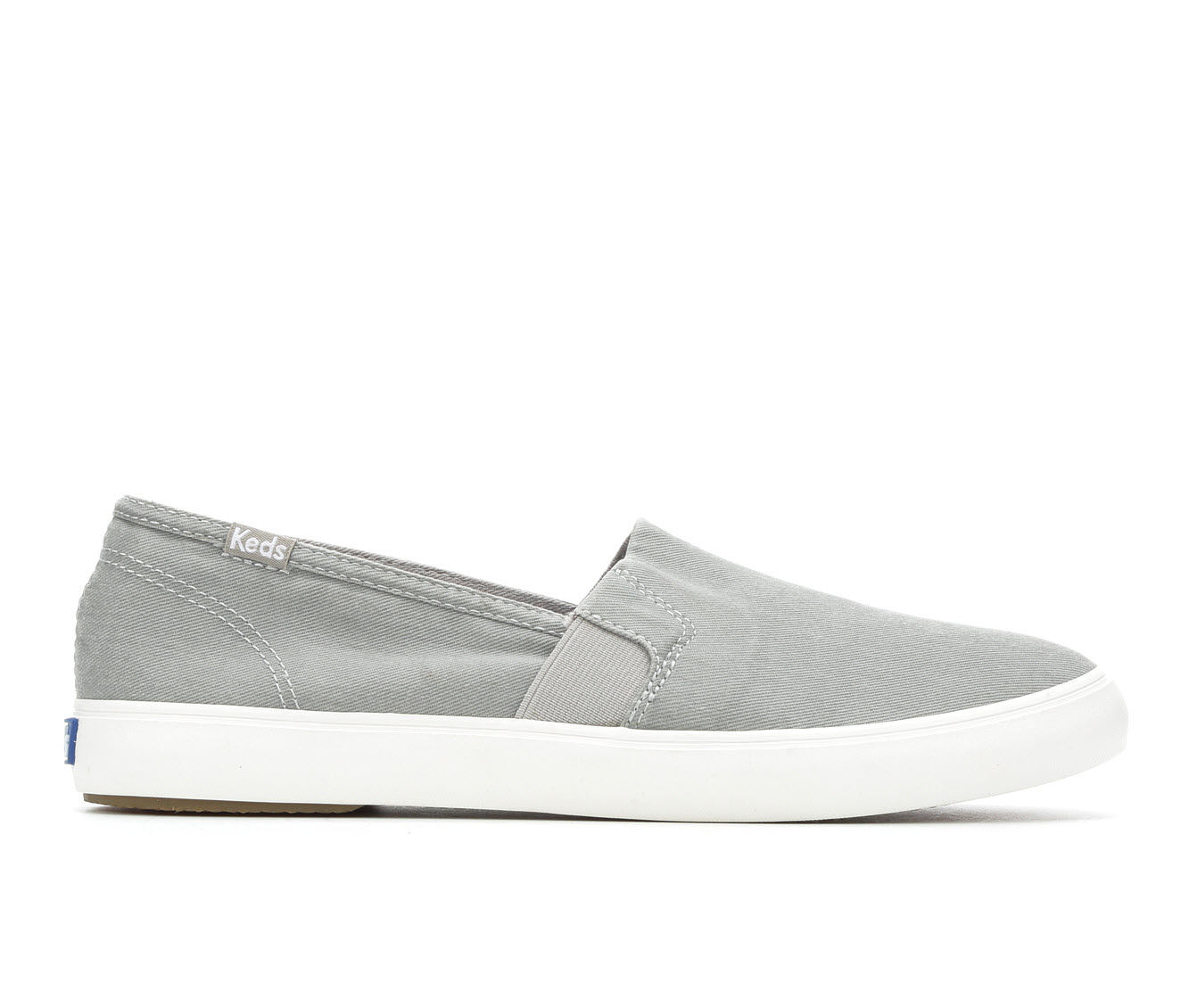 Keds Clipper Women's Shoe (Gray Canvas)
