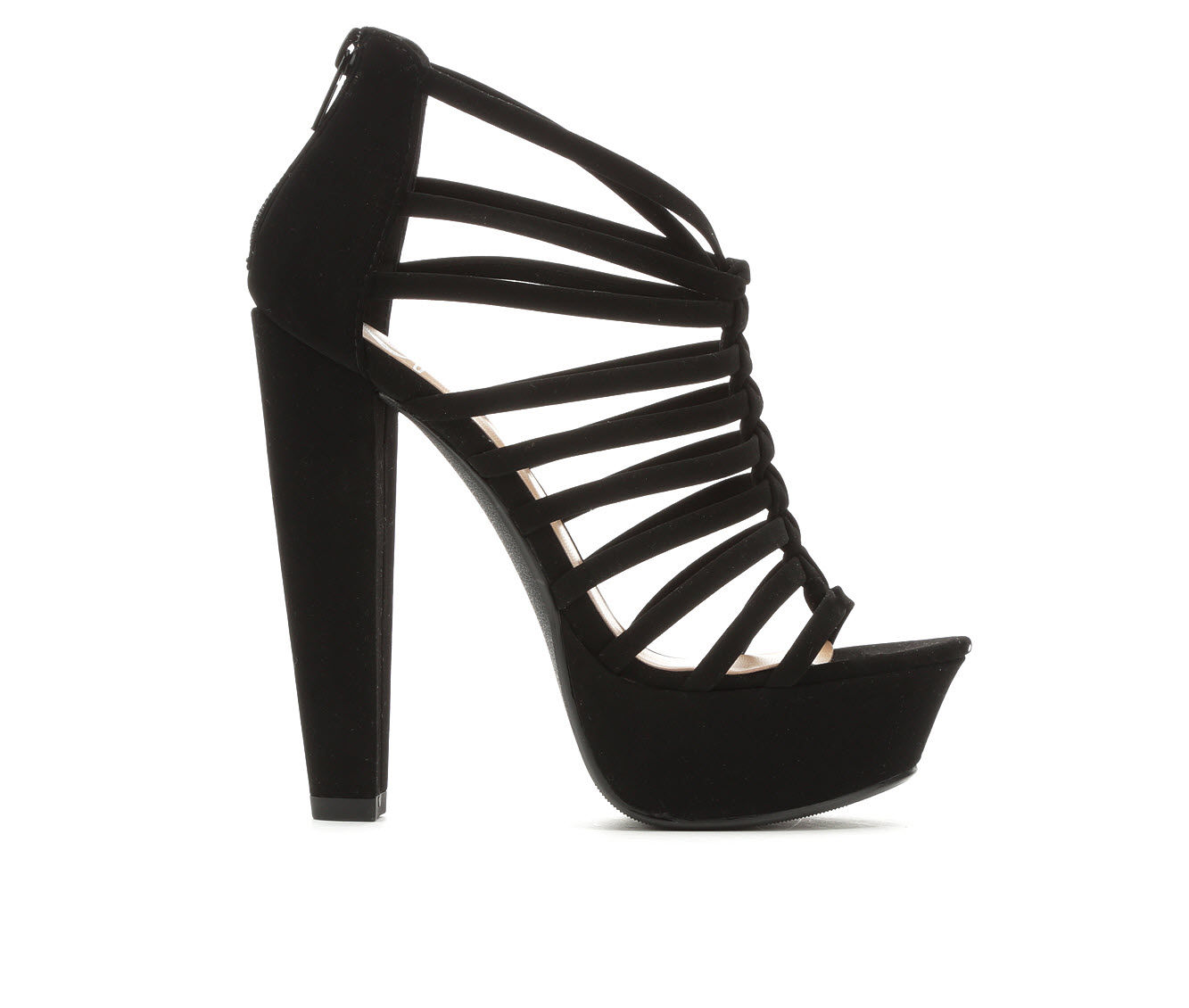 Delicious Meme Women's Dress Shoe (Black Faux Leather)