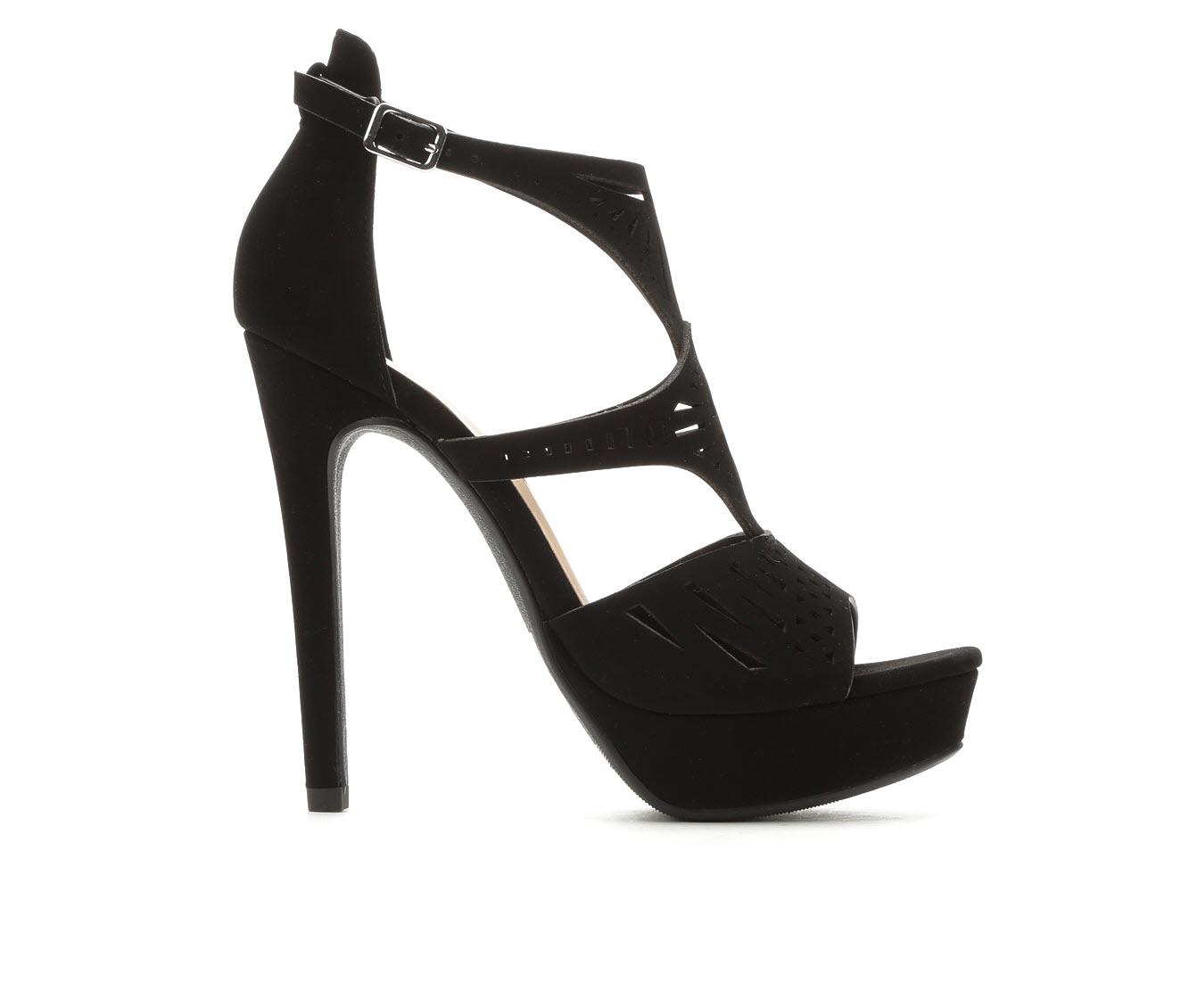 Delicious Abagale Women's Dress Shoe (Black Faux Leather)