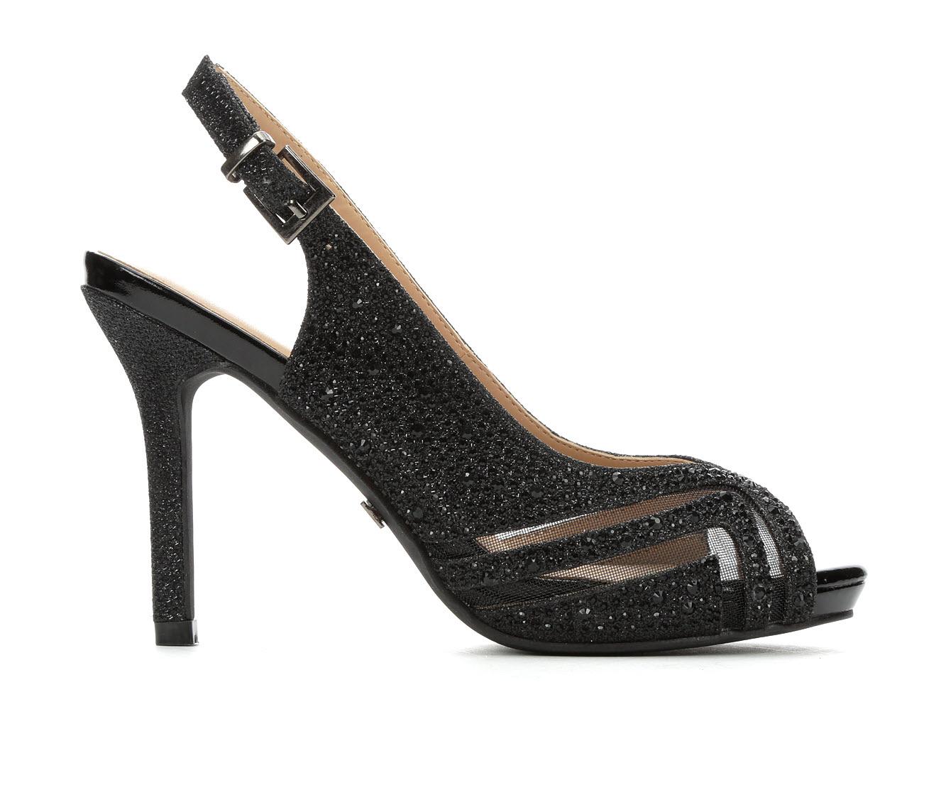 LLorraine Pearl Women's Dress Shoe (Black Canvas)