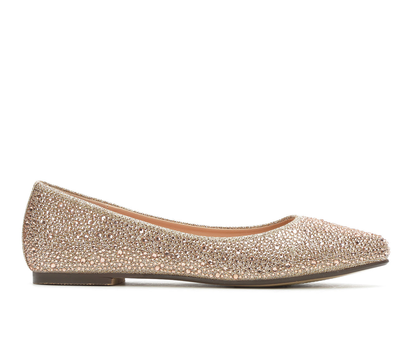 LLorraine Kitty Women's Dress Shoe (Gold Canvas)