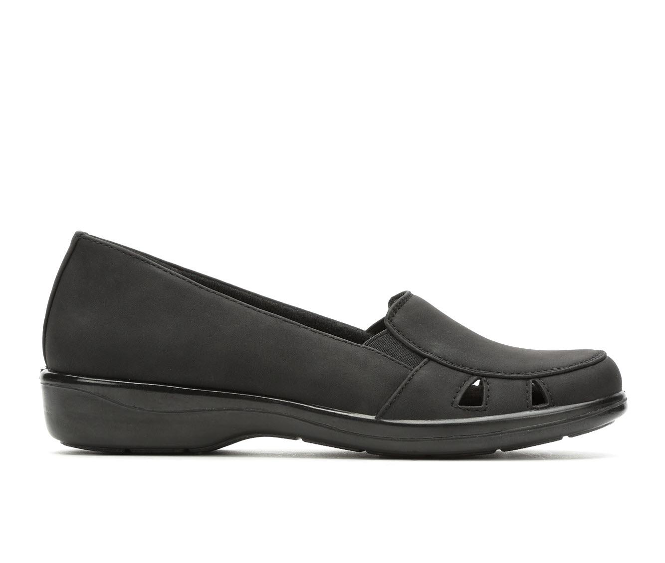 Easy Street Julie4 Women's Shoe (Black Faux Leather)
