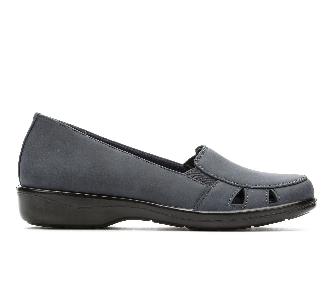Easy Street Julie4 Women's Shoe (Blue Faux Leather)