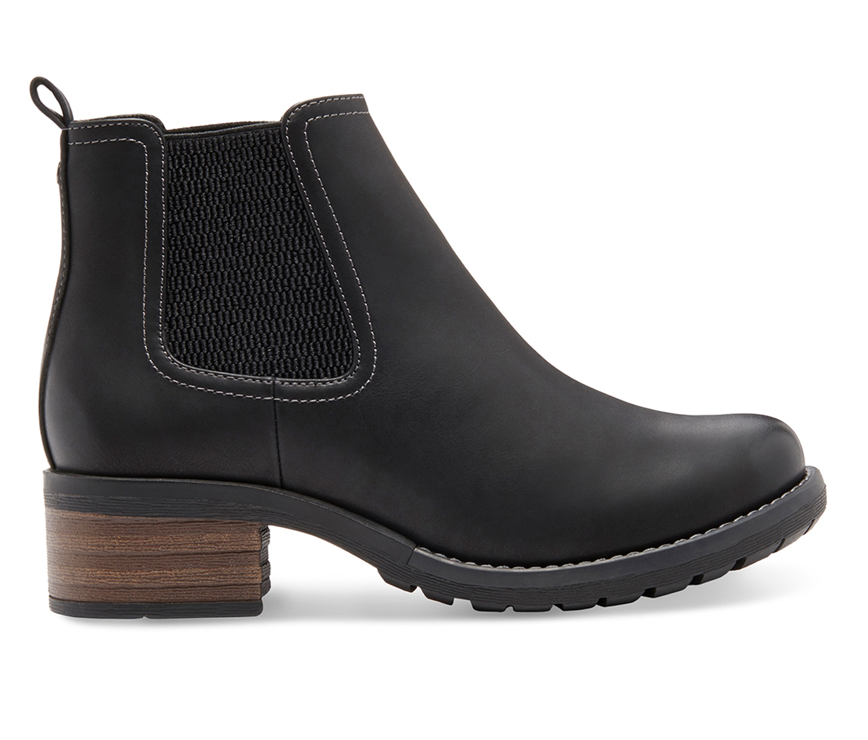 Eastland Jasmine Women's Boot (Black Leather)