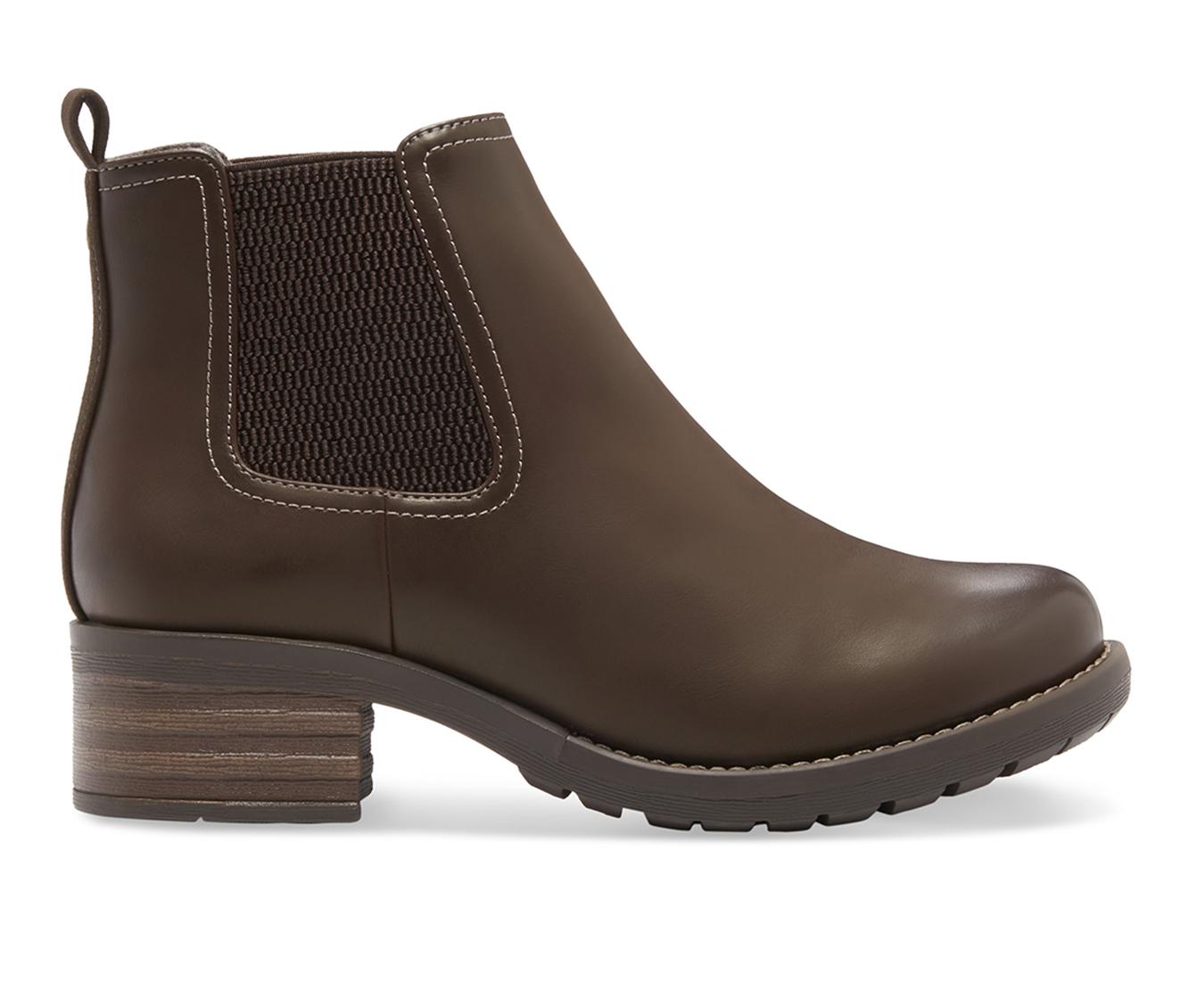 Eastland Jasmine Women's Boot (Brown Leather)