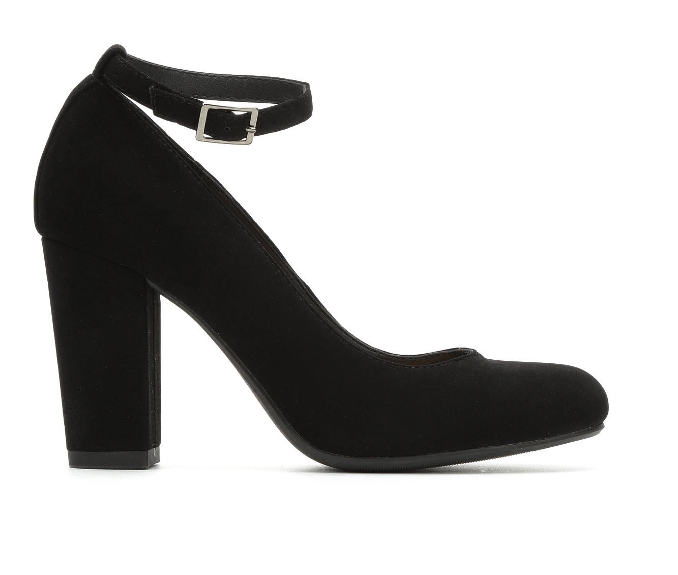 Y-Not Smith Women's Dress Shoe (Black Faux Leather)