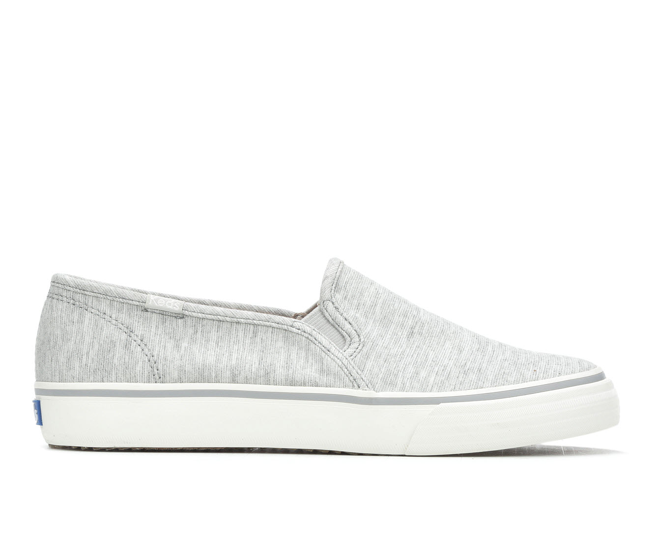 Keds Double Dckr St Jerse Women's Shoe (Gray Canvas)