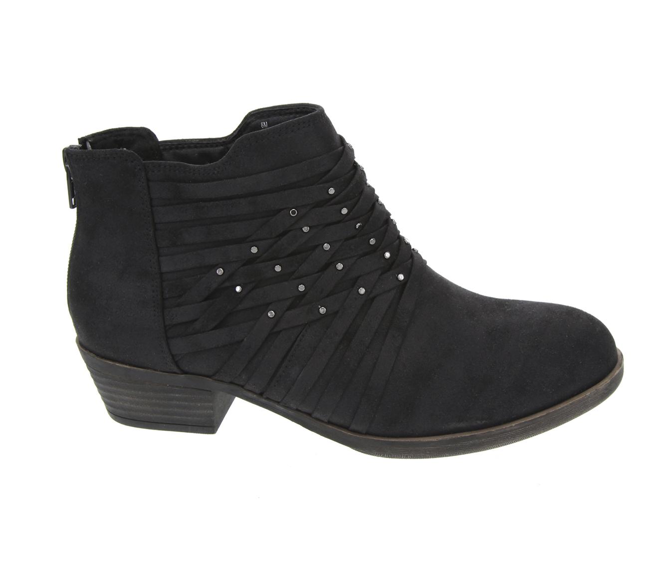 Sugar Tellie Women's Boot (Black Canvas)