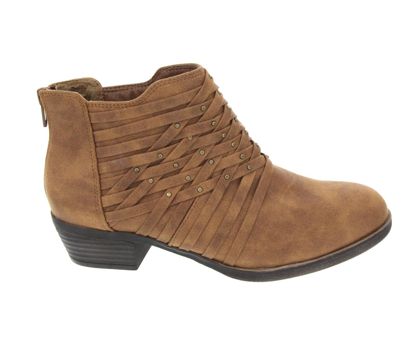 Sugar Tellie Women's Boot (Brown Canvas)